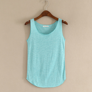Image 4 - Gorące lato tank top fitness nowy T koszula Plus rozmiar luźny model damskiej podkoszulki bawełna O neck topy slim moda odzież damska