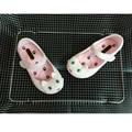 Verão Meninas Encantadoras gato cabeça geléia sandália sapatos sapatos de praia