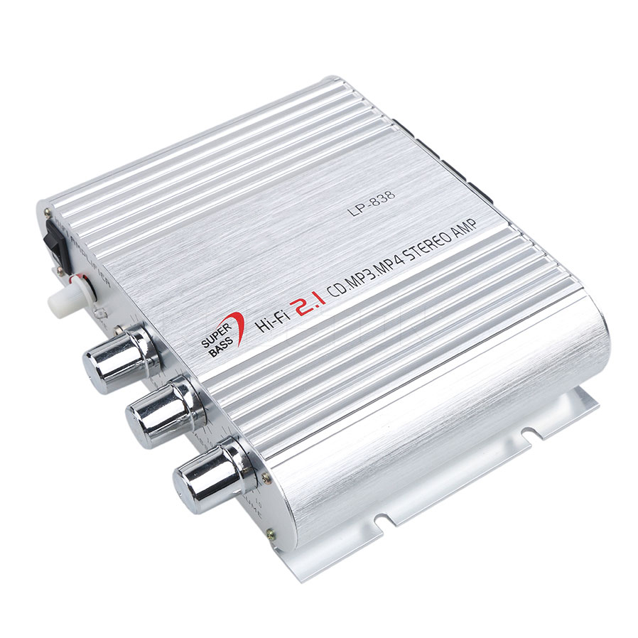 12v Car Amplifier 21 Channel Audio Stereo Bass Speaker Hi Mp3 Player Booster Circuits Fi For Home Auto Radio Music Boostrer In Multichannel Amplifiers From