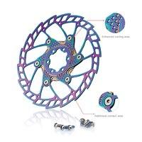 Fouriers MTB Mountain Bike Disc Brake Rotor Two Piece Floating 140mm 160mm 180mm 203mm IS 6 Botls Road Bike Rotors