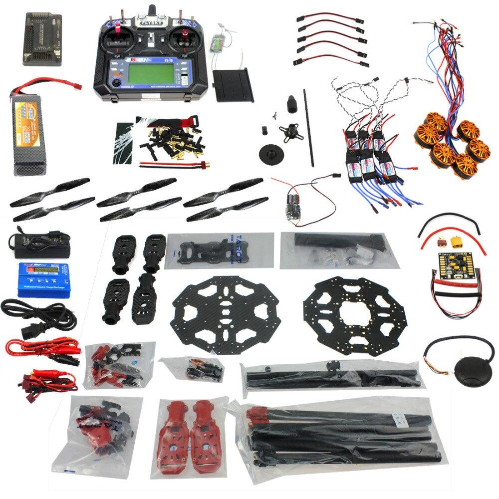 ⊹Conjunto completo kit de aviones helicóptero drone tarot 680pro ...