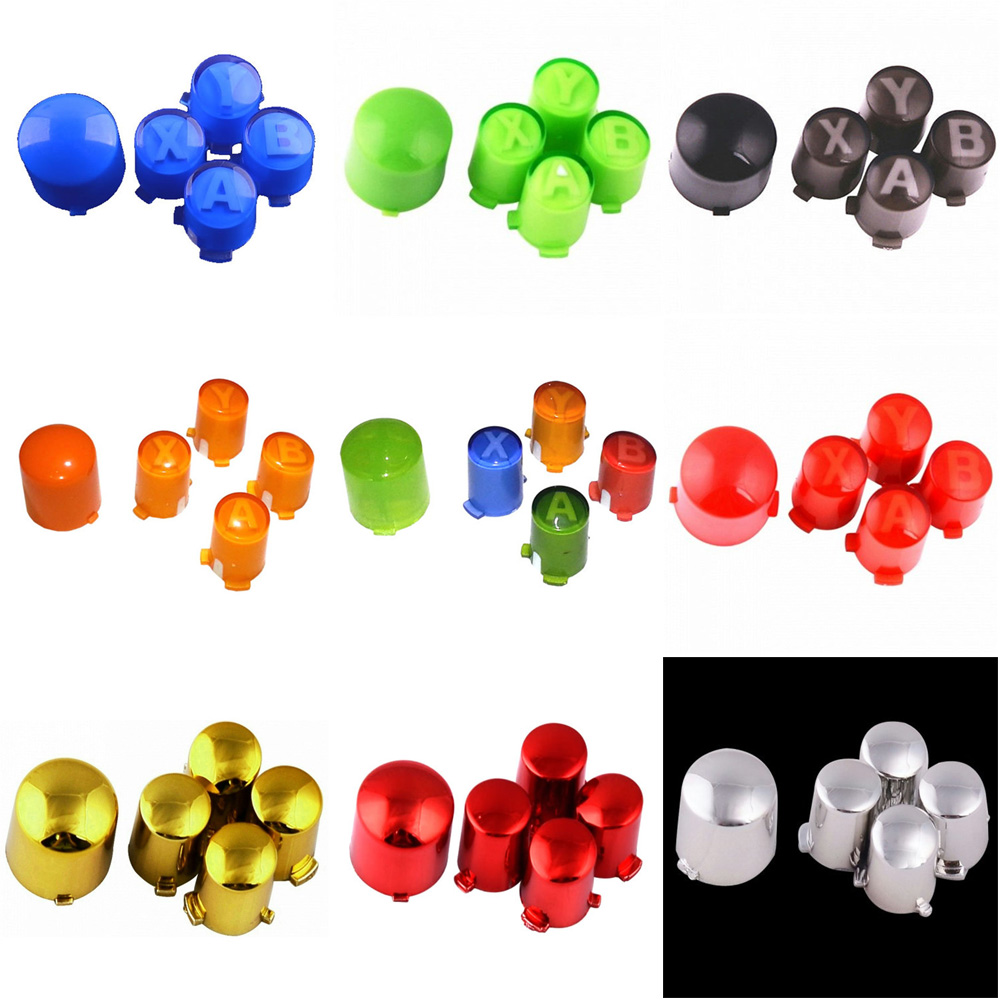 IVYUEEN Custom 12 Colors ABXY & Guide Button Mod Kit for Microsoft ...