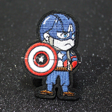 Avengers Movie Patches For Clothes Iron On Spider-Man Patch Man Appliques Marvel Embroidery Clothing Accessory