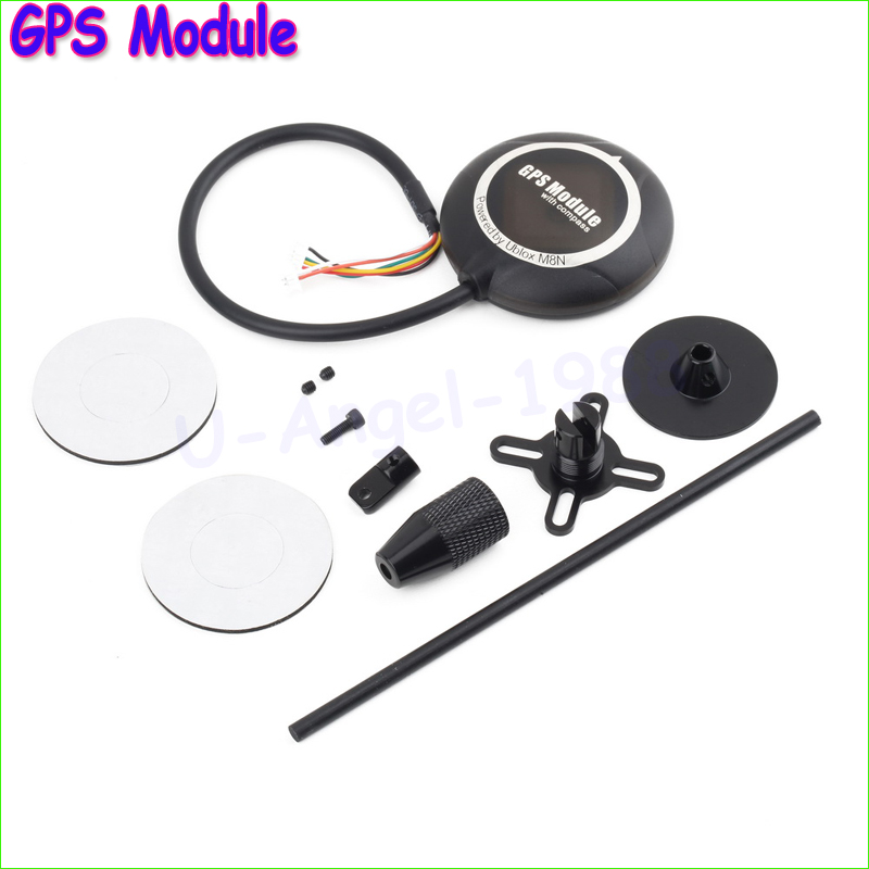 1pcs NEO-M8N Flight Controller GPS Module with Shell & Stand for PX4 Pixhawk Wholesale crius u blox neo 6 v3 1 gps module gps radio set module for mwc multiwii se lite apm pixhawk flight controller