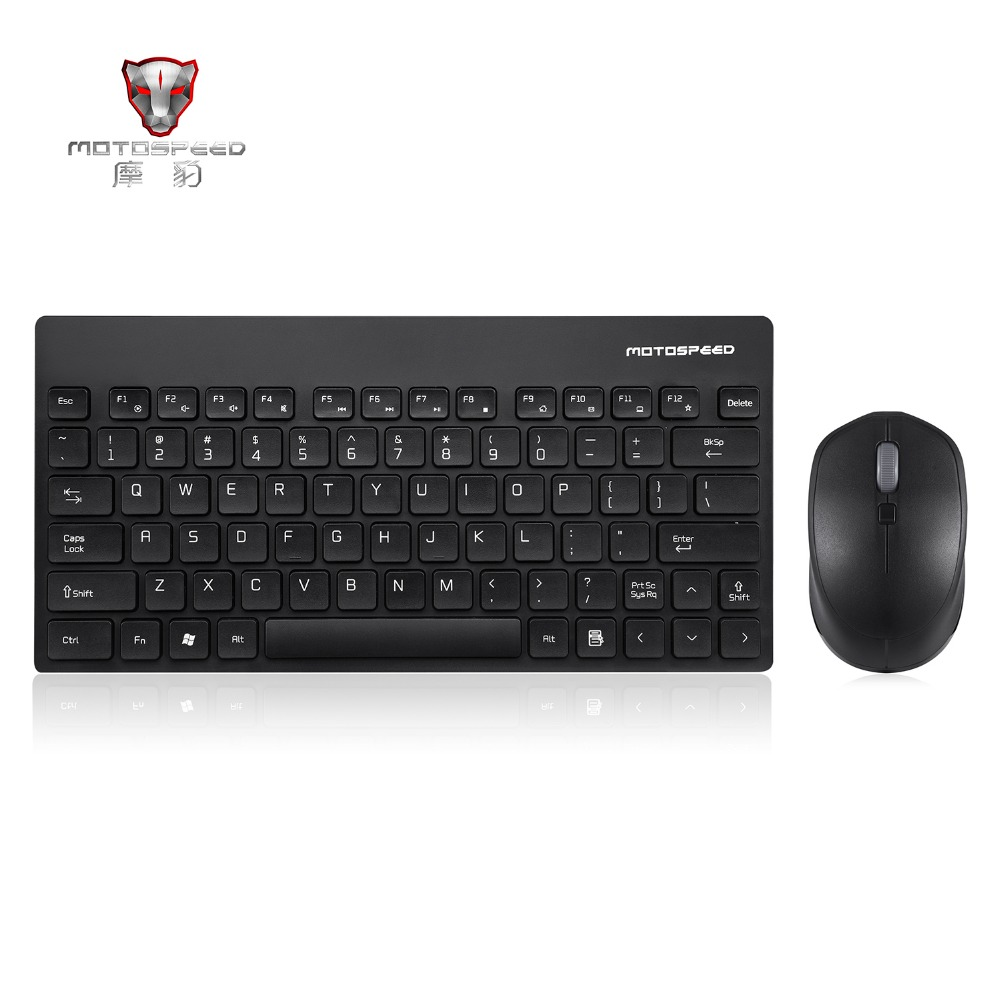 Motospeed G3000 2 4G Wireless Keyboard And Mouse Combo Mini Keyboard 3D Wheel 1600DPI Mouse Up