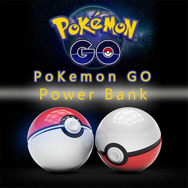 10 unids/lote Cargador del Banco de Energía 10000 mah Pokeball Adecuado para todos los teléfonos de Encargo Juego Pokemon Ir banco de la Energía Al Por Menor caja de p20