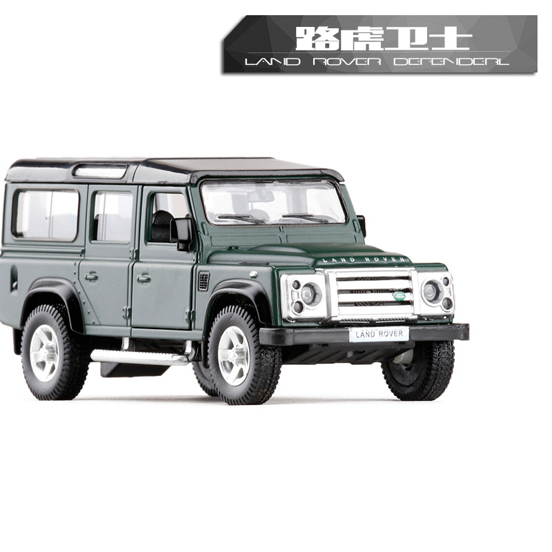 High Simulation 1:36 RMZ City Land Defender SUV Alloy Diecast Models Car Toys Pull Back Cars Off-road Vehicle For Kids Toy Gifts