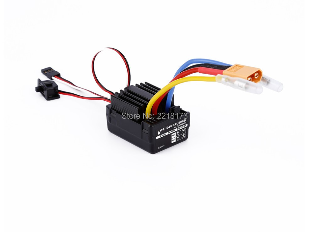 Dragon model WP 1040 60A Waterproof Brushed ESC Controller for Hobbywing Quicrun Rc Car Motor