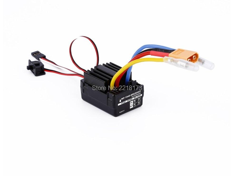 Dragon model WP 1040 60A Waterproof Brushed ESC Controller for Hobbywing Quicrun font b Rc b