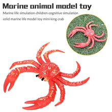 Ocean Sea Life Simulation Animal Model Sets Shark Whale Turtle Crab Dolphin Action Toy Figures Kids Educational Collection Gift цена