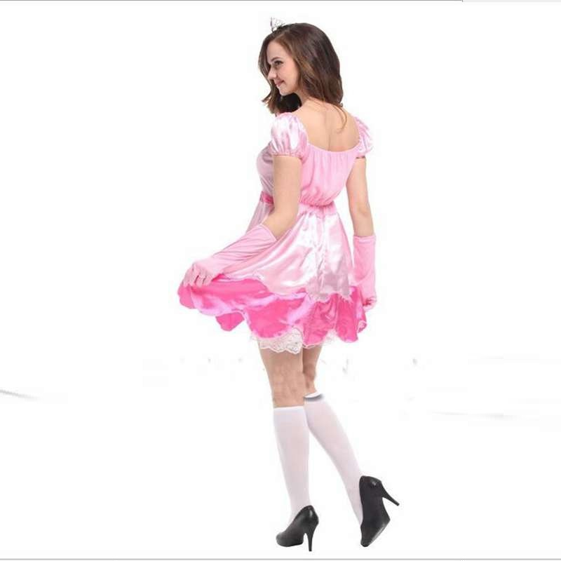 Costumes Show Clothing Pretty Pink Peach Queen Cosplay Costume Party Halloween Costumes-in Holidays Costumes from Novelty u0026 Special Use on Aliexpress.com ...  sc 1 st  AliExpress.com & Costumes Show Clothing Pretty Pink Peach Queen Cosplay Costume Party ...