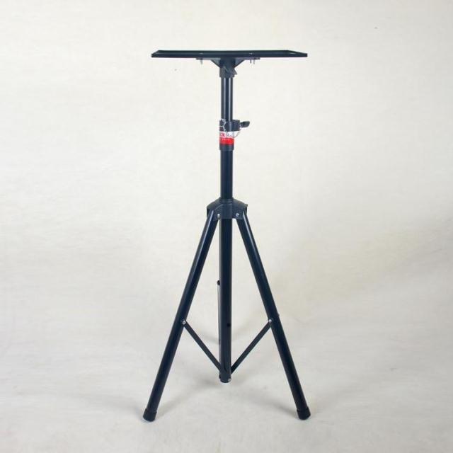 Universal Folding Projector Stand Tripod With Frosted Tray Speaker Holder Stand Tripod Surround Holder TY173