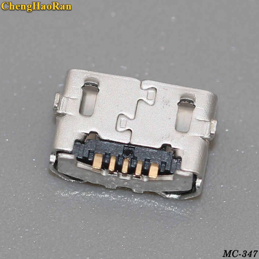 ChengHaoRan 1-5 قطعة 5 دبوس لهواوي الشرف 4X Y6 4A P8 C8817 P8max P8Lite 4C 3 XPro g750-T20 USB ميناء الشحن موصل التوصيل جاك