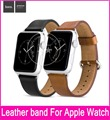 2016 New Style HOCO Genuine Leather Watchbands For Apple Watch 38mm 42mm With Top Layer leather And Original Metal Buckle