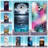 For Case Alcatel Pop 3 (5.0) 5015d Soft Silicon TPU Back Cover 3D Cute Cat Coque For alcatel one touch pop 3 5.0'' Phone Cases
