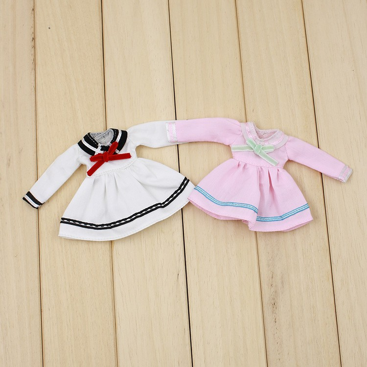 Middie Blythe Doll Student Uniform With Bow 1