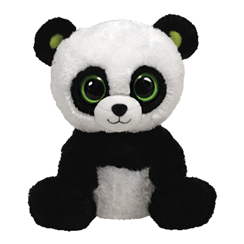 25cm 10 inch Ty Beanie Boos bamboo Panda Plush Toy Stuffed Animal Doll  Bamboo Soft Kids Toy Birthday Gift Hot -in Stuffed   Plush Animals from Toys  ... 1847e0b6d2c9