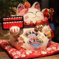 Hot Selling Newest Lucky Cat Opening Gifts Living Room Ornaments Shop Decorations Cash Register Creative Piggy Bank Gifts