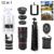 Teléfono kit de 8x de zoom de teleobjetivo lentes lentes de microscopio + tirpod + ojo de pez gran angular macro lente del telescopio para el iphone huawei lenovo lg