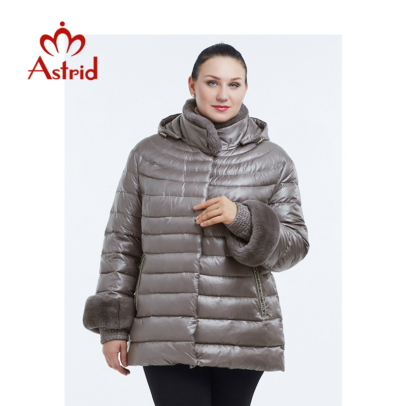2019 Astrid New Autumn Jacket Parka Women Winter Coat Warm Outwear Thin Cotton Padded Jackets Coats