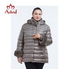 2019 Astrid New Autumn Jacket Parka Women Winter Coat Warm Outwear Thin Cotton-Padded Jackets Coats High Quality FR-2036(China)
