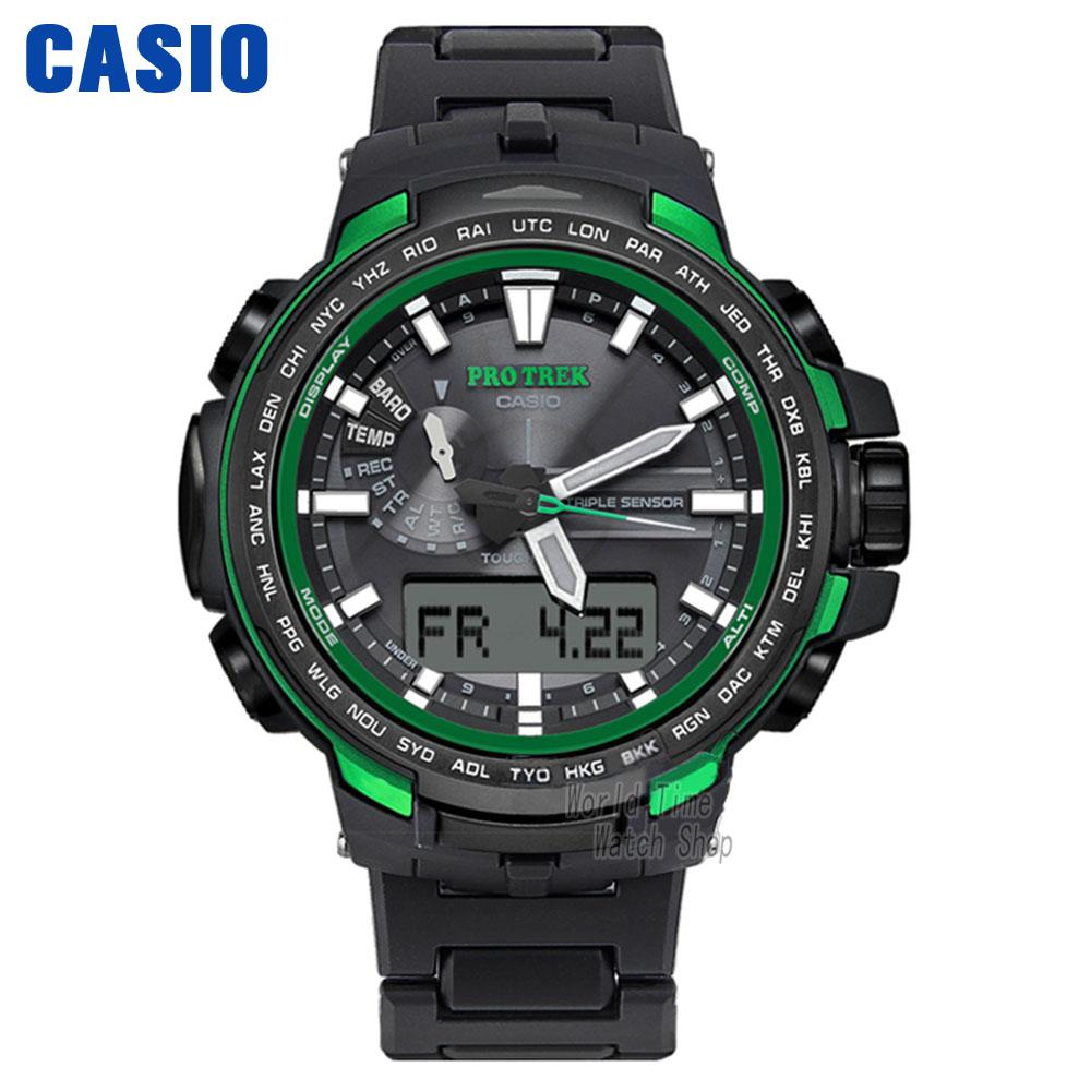 Casio watches solar outdoor climbing table PRW-6100FC-1P PRW-6100Y-1A PRW-6100Y-1B PRW-6100YT-1B PRW-6100Y-1P men's watches кварцевые часы casio sport prw 6000y 1a black