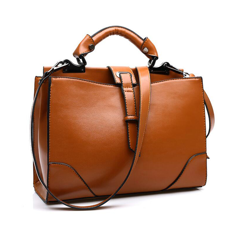 Popular Brown Leather Tote-Buy Cheap Brown Leather Tote lots from ...