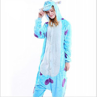 Special Offer Women S Sullivan Cosplay Animal Animals Costume Adult Woman Full Sleeve Polyester Sleep Lounge