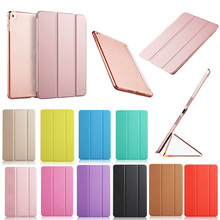 Silk Style Case for Apple IPad Pro 12.9 Three Fold Flip Stand Shell cover Business Pu Leather Smart Ipad Inch