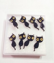 1 pair cute animal double side earrings jewelry 2016 new design 2016 new arrival simple