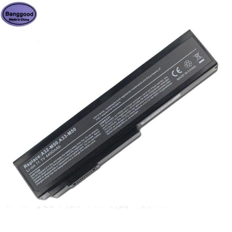 11.1 v 4400 mah Batterie D'ordinateur Portable pour ASUS A32-M50 A33-M50 A32-N61 N53S N53SV N53 A32 M50 M50s N61 N61J n61D N61V N61VG N61JA