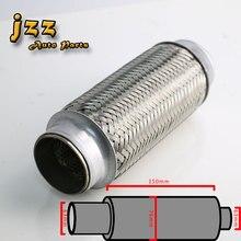 JZZ Глушитель гибкие трубы и hige качества гибкая трубка из нержавеющей стали С стайлинга автомобилей гибкая труба выхлопная