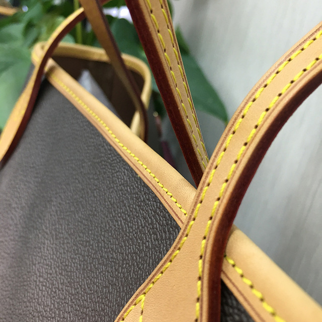 Excellent Quality Neverful Bag Women Shopping Bag Luxury Brand Monogrom Never Shoulder Bag Canvas Leather Full Handbags MM/GM 1