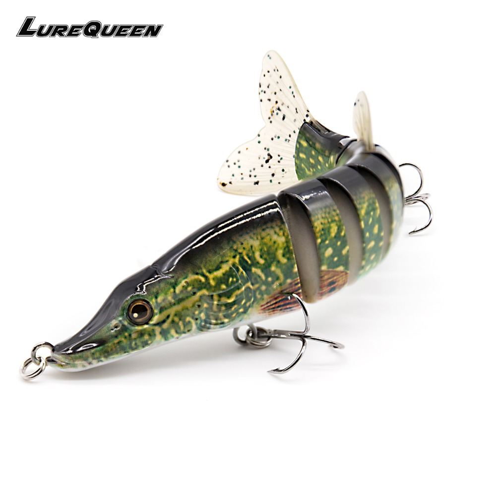 20cm 70g Multi Jointed Pike Leurres Hard Baits Wobbler Crankbait Sea Bass Fishing Lures Tackle Saltwater Swimbaits Soft Tail