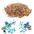 10000 pçs/saco crescer bolas de água de cristal de cristal macio água paintball gun bulletsoil contas de água ar brinquedos pistola de água