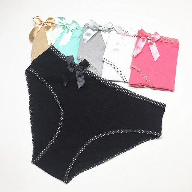 Panties plus size cotton underwear women