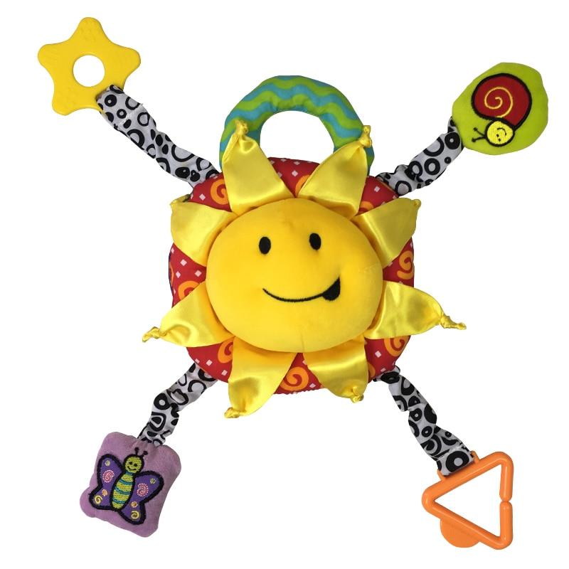 2018 nieuwe baby rammelaar Kinderen Trek Ring Bed Wandelwagen - Speelgoed voor kinderen