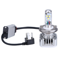 H4 9003 HB2 Led Car Motorcycle Headlight Bulb CREE LED Chip High Low Beam 30W 3000LM
