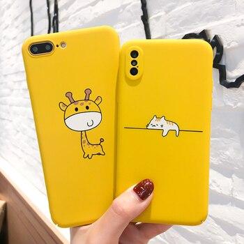 Cute Cartoon Phone Case For iPhone 6, 7, 8, X 1