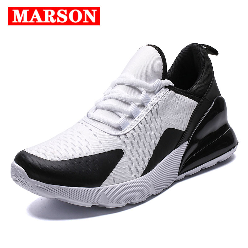 MARSON Men 39 s Running Shoes Outdoor Sport Comfortable Breathable Lace up Durable Men 270 Sneakers Walking Sneakers Big Size in Men 39 s Casual Shoes from Shoes