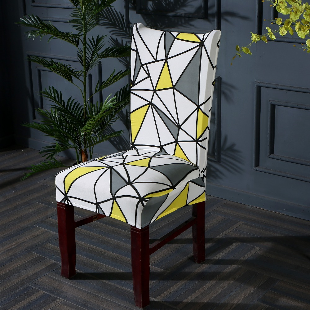 Patterned Dining Chair Slipcover 2