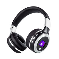 ZEALOT B19 HiFi Bluetooth Headphones Foldable Wireless Stereo Earphone Headsets With Mic Micro SD Card Slot