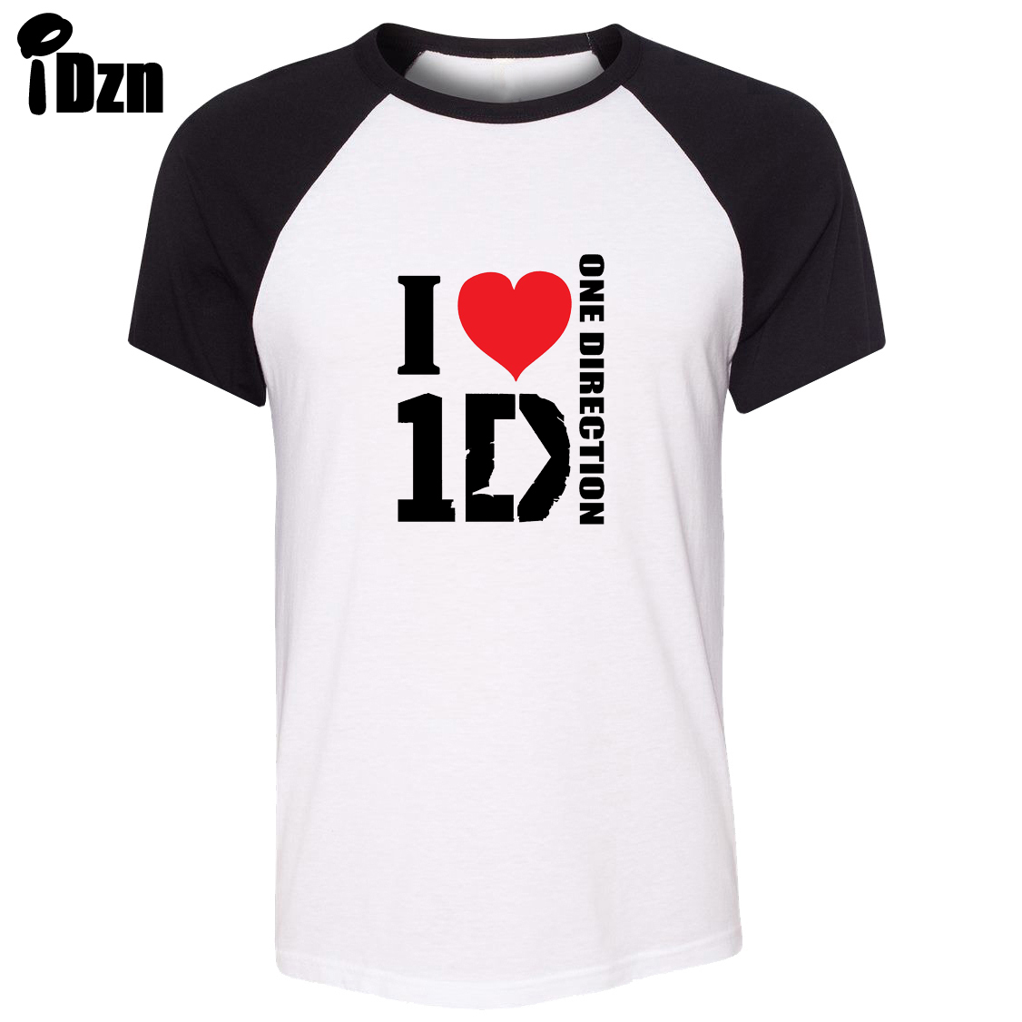 Design t shirt one direction - Unisex Summer T Shirt One Direction Band I Love 1 D Louis Harry Liam Zayn