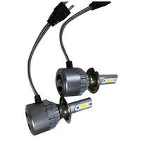 2 шт. светодиодные фары автомобиля C6 удара Авто Передние противотуманные лампочки 7200lm 9 В-36 В H7