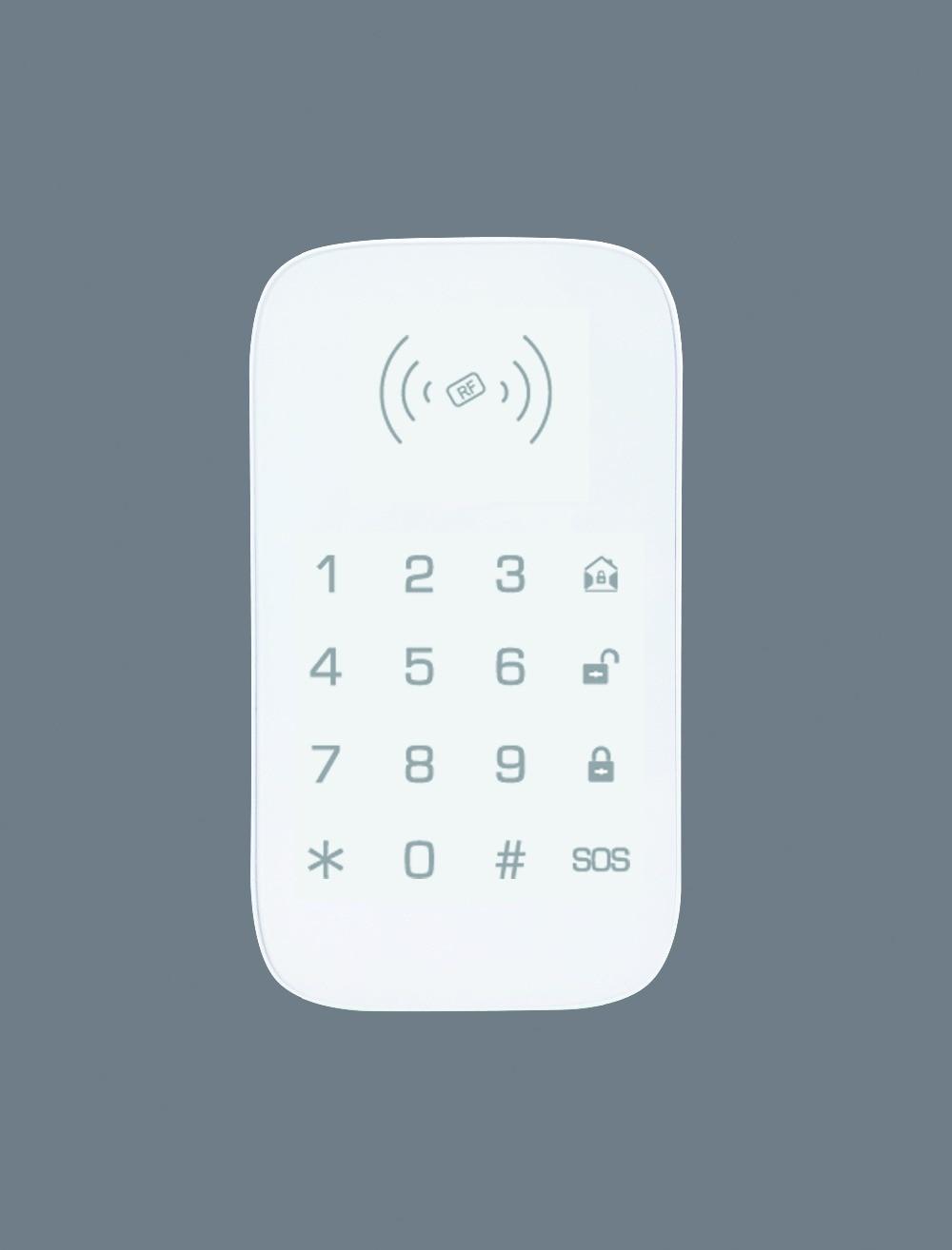 smartyiba 433 mhz teclado sem fio do alarme com 2 pcs rfid tag rfid teclado de