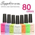 Sapphire 20 Colors Optional Nail Gel Nair Art UV Gel Polish  #061-080 Brand Sapphire