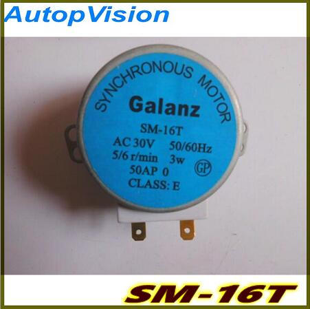 SM-16T Microwave Turntable Turn Table Motors Machinery Synchronous Motor SM16T AC30V For Galanz Microwave