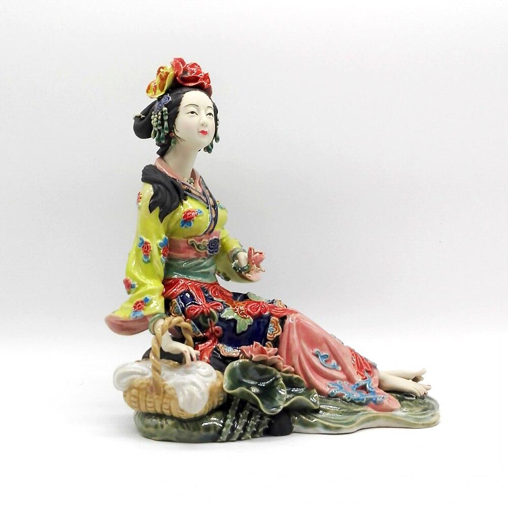 учась керамические фигурки в китайском стиле фото обработанные отпечатки хлоросеребряной