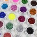 Hot venta de la nueva belleza 30 unids uno set maquiagem 30 colores mezclados polvo de pigmento del brillo de la lentejuela mineral eyeshadow maquillaje