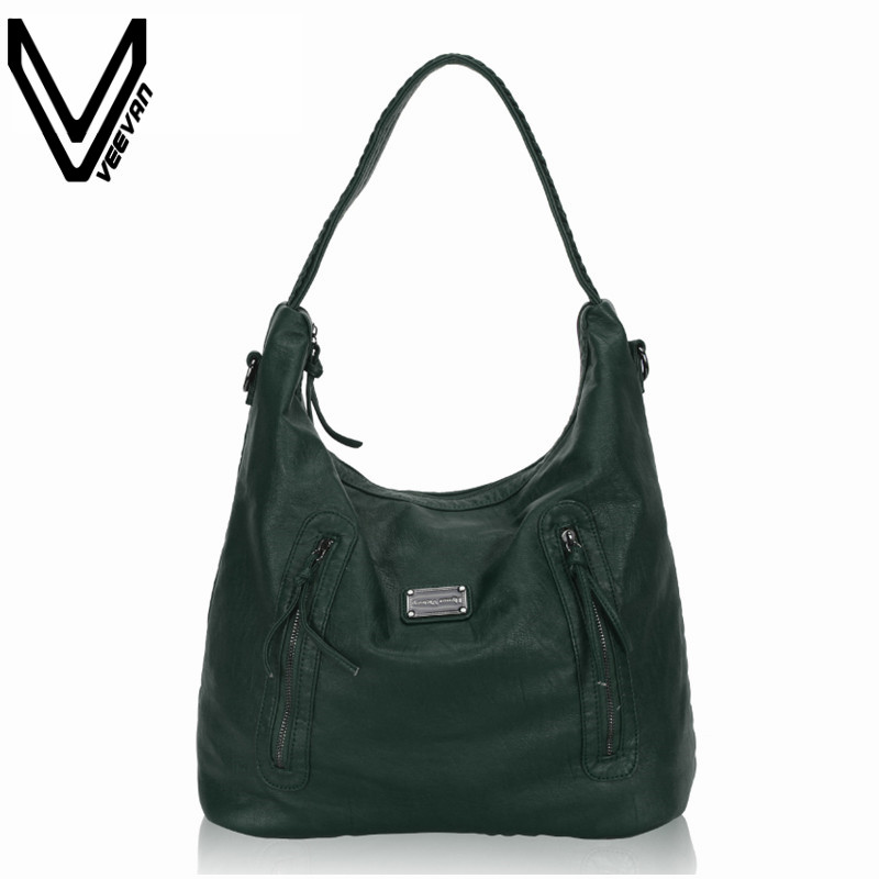 New VEEVANV Women Handbags High Quality Leather Shoulder Bags Ladies Tote Handbag Fashion Messenger Bag New Crossbody Bag Female